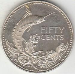 硬币  /> 50分, 1974-1996 - 巴哈马 - reverse