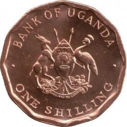 Монета > 1шиллинг, 1987 - Уганда  - obverse