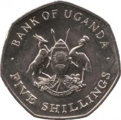 Coin > 5shillings, 1987 - Uganda  - obverse