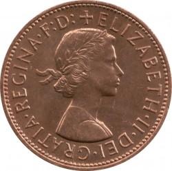 Moeda > 1pêni, 1961-1970 - Reino Unido  - obverse
