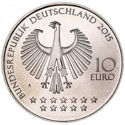 Moeda > 10euro, 2015 - Alemanha  (Bicentenário do Nascimento do Chanceler Otto von Bismarck) - obverse