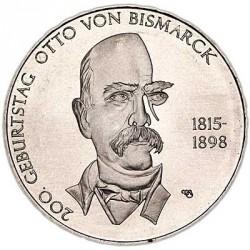 Moeda > 10euro, 2015 - Alemanha  (Bicentenário do Nascimento do Chanceler Otto von Bismarck) - reverse