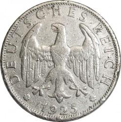 Moneda > 2reichsmark, 1925-1931 - Alemania  - obverse