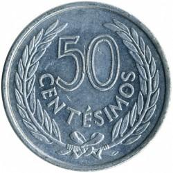 Монета > 50сентесимо, 1965 - Уругвай  - obverse