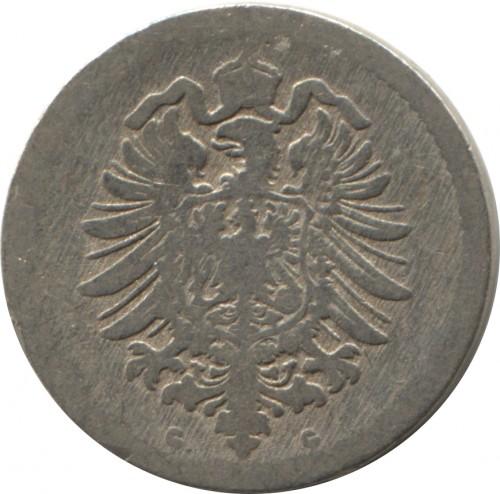 5 Pfennig 1874 1889 Deutschland Münzen Wert Ucoinnet