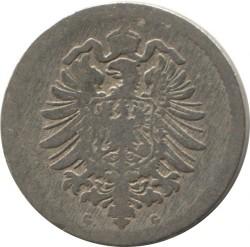 Moneda > 5peniques, 1874-1889 - Alemania  - obverse
