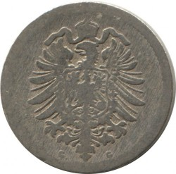 Moneda > 5peniques, 1874-1889 - Alemania  - reverse