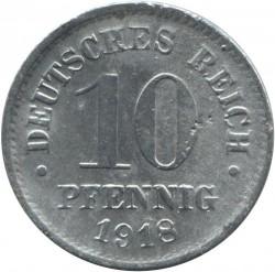 Moneda > 10peniques, 1917-1922 - Alemania  - reverse