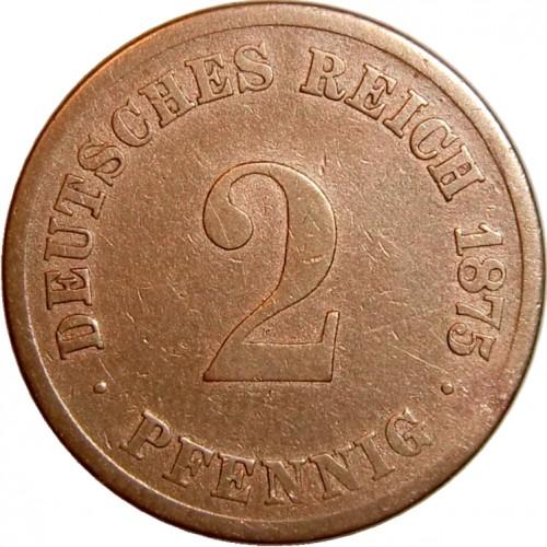 2 Pfennig 1873 1877 Deutschland Münzen Wert Ucoinnet
