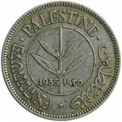 Moeda > 50mils, 1927-1942 - Palestina  - obverse