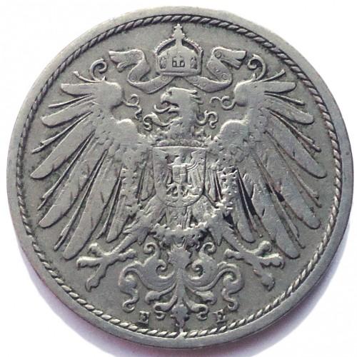 10 Pfennig 1890 1916 Deutschland Münzen Wert Ucoinnet