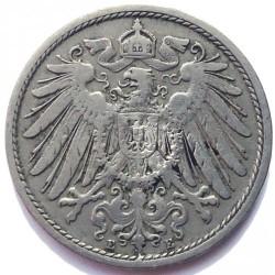 Moneda > 10peniques, 1890-1916 - Alemania  - obverse