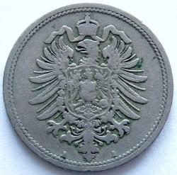 Moneda > 10peniques, 1873-1889 - Alemania  - obverse