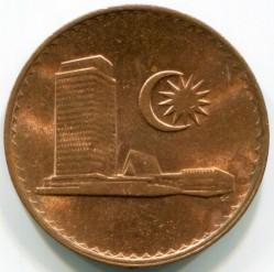 Moneda > 1sen, 1973-1988 - Malàisia  - obverse