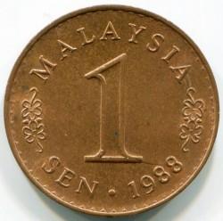 Moneda > 1sen, 1973-1988 - Malàisia  - reverse