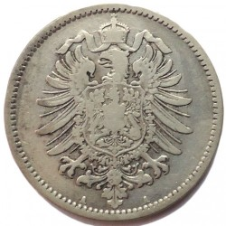 Монета > 1марка, 1873-1887 - Германия  - obverse