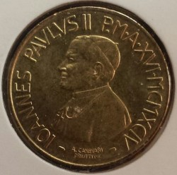 Mynt > 20lire, 1994 - Vatikanstaten  (Christ's Solidary) - obverse