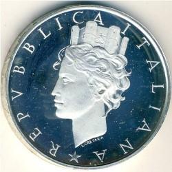 Монета > 500лир, 1988 - Италия  (40 лет Конституции Италии) - obverse