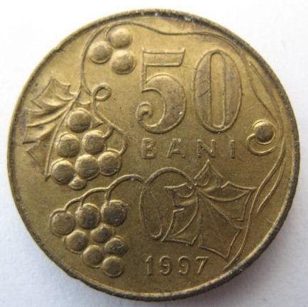 50 бани 1997 молдова цена 1 копейка серебром 1843