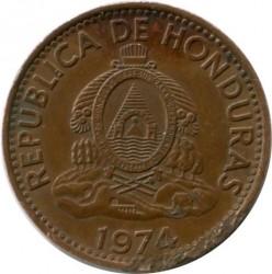 Moneta > 1sentavas, 1974-1998 - Hondūras  - obverse