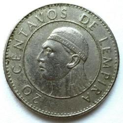 Moneta > 20centavos, 1978-1990 - Honduras  - reverse