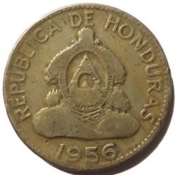 Moneda > 10centavos, 1932-1956 - Hondures  - obverse