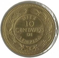 Кованица > 10центи, 1993-1994 - Хондурас  - reverse