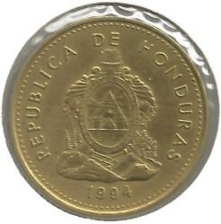 Кованица > 5центи, 1993-1994 - Хондурас  - obverse