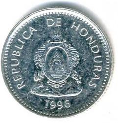 Moneta > 20sentavų, 1995-2014 - Hondūras  - reverse