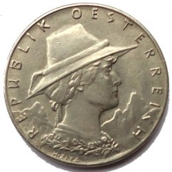 Moneda > 1000coronas, 1924 - Austria  - obverse