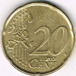 Moneta > 20centesimidieuro, 1999-2006 - Belgio  - obverse