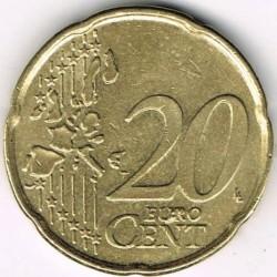 Moneta > 20centesimidieuro, 1999-2006 - Belgio  - reverse