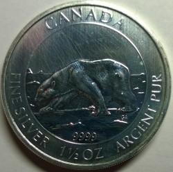 錢幣 > 8元, 2013 - 加拿大  (Polar Bear) - reverse