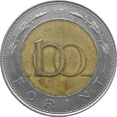 moda buty do biegania najbardziej popularny 100 forintów 1996-2011, Węgry - Cena monety - uCoin.net