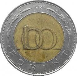 100 Forint 1996 2011 Ungarn Münzen Wert Ucoinnet