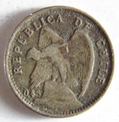 Coin > 10centavos, 1915-1918 - Chile  - obverse