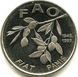 Coin > 20 lipa, 1995 - Croatia  (Food and Agricultural Organization of the United Nations) - reverse