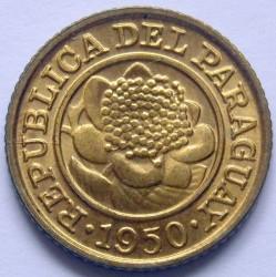 מטבע > 1סנטימו, 1944-1950 - פרגוואי  - obverse