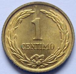 Монета > 1сентимо, 1944-1950 - Парагвай  - reverse