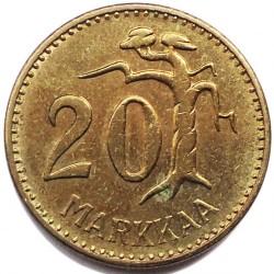 Münze > 20Mark, 1962 - Finnland  - reverse
