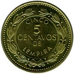 Moneta > 5centavos, 1995-2007 - Honduras  - reverse