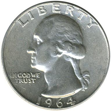 ¼ Dollar 1932 1964 Washington Quarter Usa Münzen Wert Ucoinnet