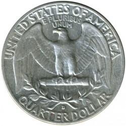 Minca > ¼dolára, 1932-1964 - USA  (Washington Quarter) - reverse