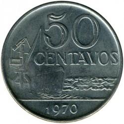 Moneta > 50centavos, 1970-1975 - Brasile  - reverse