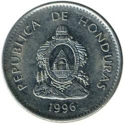 Кованица > 50центи, 1995-2014 - Хондурас  - obverse