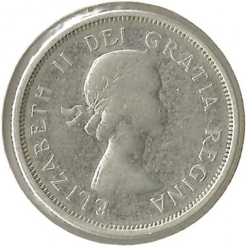 25 Cent 1953 1964 Kanada Münzen Wert Ucoinnet