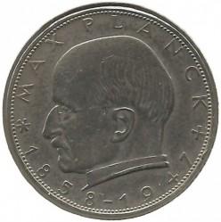 Coin > 2mark, 1965 - Germany  (Max Planck) - reverse