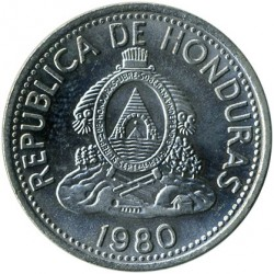 Moneta > 10sentavų, 1954-1993 - Hondūras  - reverse