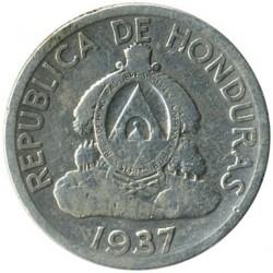 Кованица > 50центи, 1931-1951 - Хондурас  - obverse
