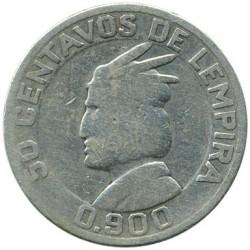 Кованица > 50центи, 1931-1951 - Хондурас  - reverse